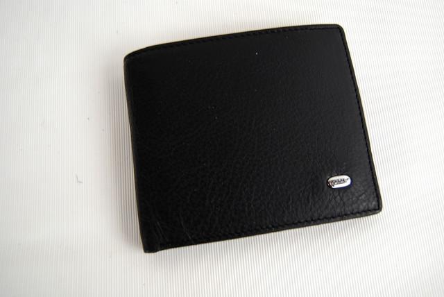 Мужское портмоне из натуральной кожи. Портмоне, бумажник мужской. На подарок мужчине. НАТУРАЛЬНАЯ КОЖА! Код: КСЕ11 - фото 2