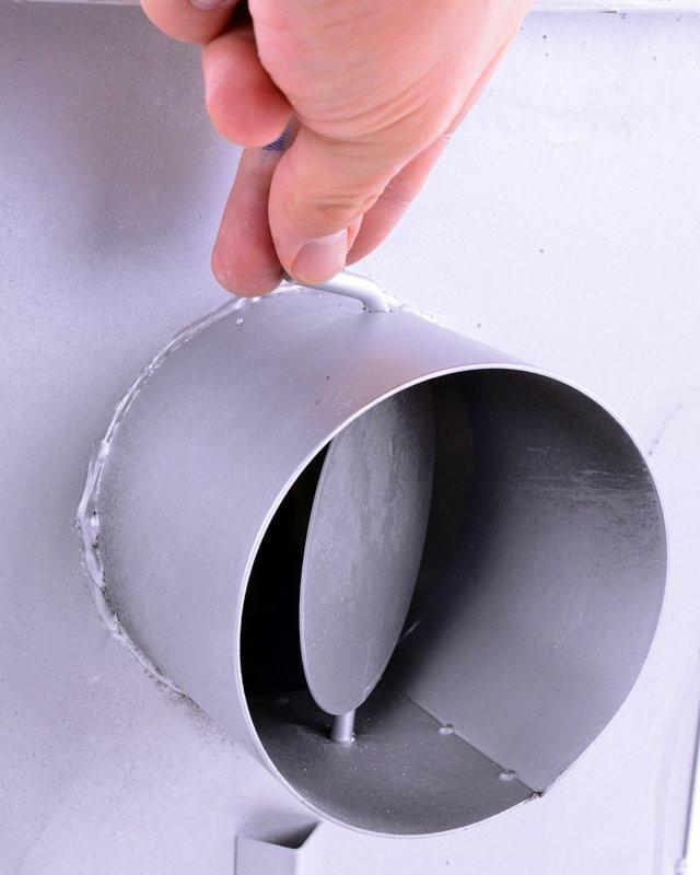 Печь буржуйка стальная 170 м2 9 шамотных кирпичей (шамотная піч стальна шамотної цегли) - фото 4