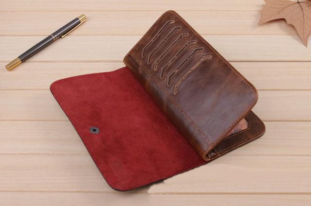 Хит продаж! Мужской кожаный кошелек, портмоне, бумажник. Кошельки для мужчин БАИЛИНИ. Лучший подарок. Код: КСЕ120 - фото 2