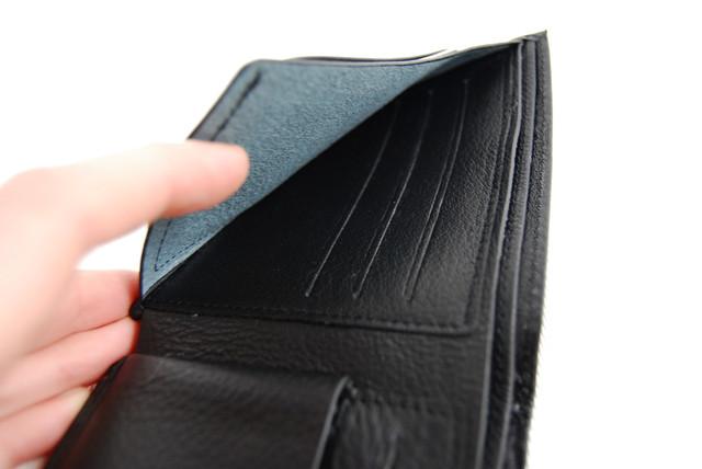 Мужское портмоне из натуральной кожи. Портмоне, бумажник мужской. На подарок мужчине. НАТУРАЛЬНАЯ КОЖА! Код: КСЕ11 - фото 3