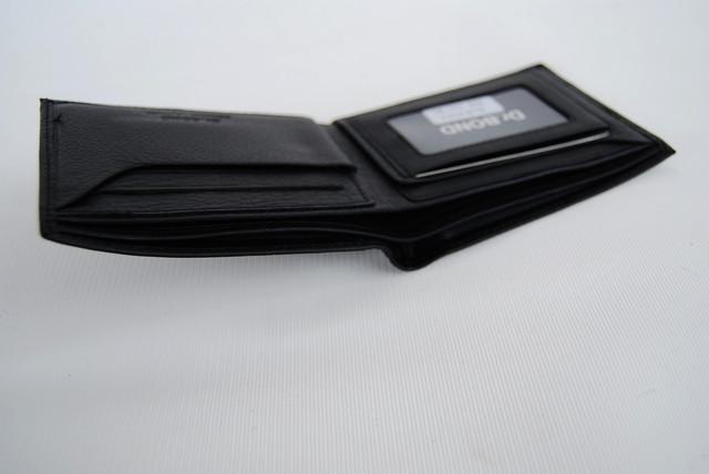 Мужское портмоне из натуральной кожи. Портмоне, бумажник мужской. На подарок мужчине. НАТУРАЛЬНАЯ КОЖА! Код: КСЕ11 - фото 4