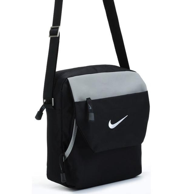 Городская сумка Nike. Оригинал. Качество. Полуспорт сумка. Спортивная сумка. Мужская сумка. Дешево. Код: КСС6 - фото 2
