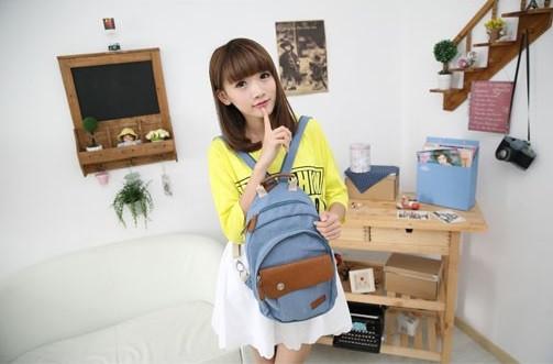 Школьный рюкзак. Модный  рюкзак. Рюкзак женский.  Современные рюкзаки. Код: КРСК27 - фото 9