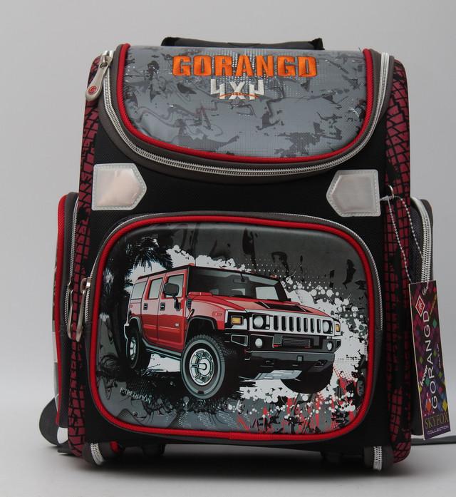 Стильный школьный рюкзак для мальчика. Ортопедический рюкзак. Отличное качество. Низкая цена. Код: КДН347 - фото 1