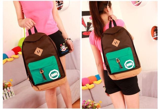Городской рюкзак. Повседневный  рюкзак. Рюкзак для студентов. Современные рюкзаки. Код: КРСК7 - фото 4