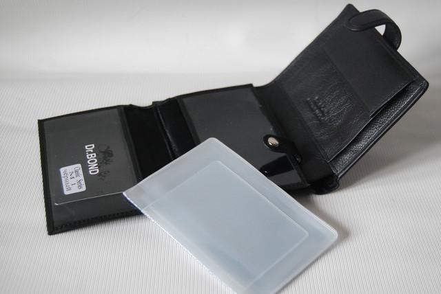Мужской кожаный кошелек,  портмоне, бумажник. Кошелек на подарок. НАТУРАЛЬНАЯ КОЖА! Код: КСЕ112 - фото 8