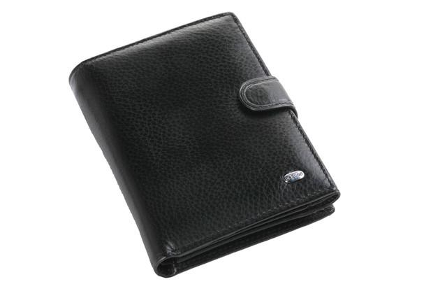 Мужской кожаный кошелек,  портмоне, бумажник. Кошелек на подарок. НАТУРАЛЬНАЯ КОЖА! Код: КСЕ112 - фото 9