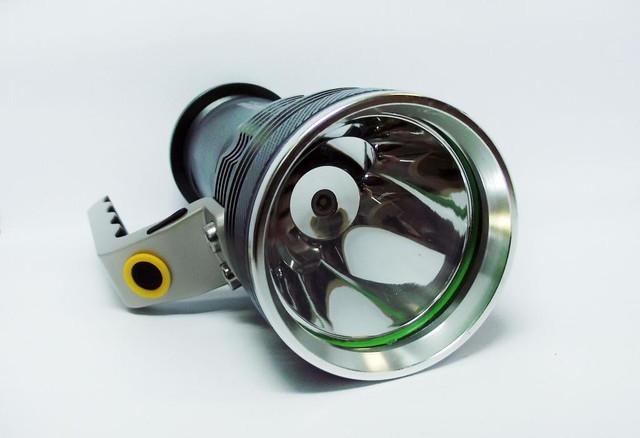 Тактический прожектор POLICE BL-T801. Современный супермощный фонарь. 3 режима. Прочный  корпус. Код: КТМТ167 - фото 6