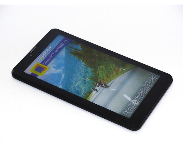 """Четырёхъядерный планшет ASSISTANT AP-725G Freedom. 7"""". 8Гб. Качественный планшет. 1024*600. Код: КТМТ153 - фото 2"""
