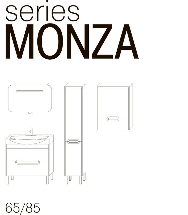 Шкаф навесной Ювента Monza MnC-30 Монза - фото 1