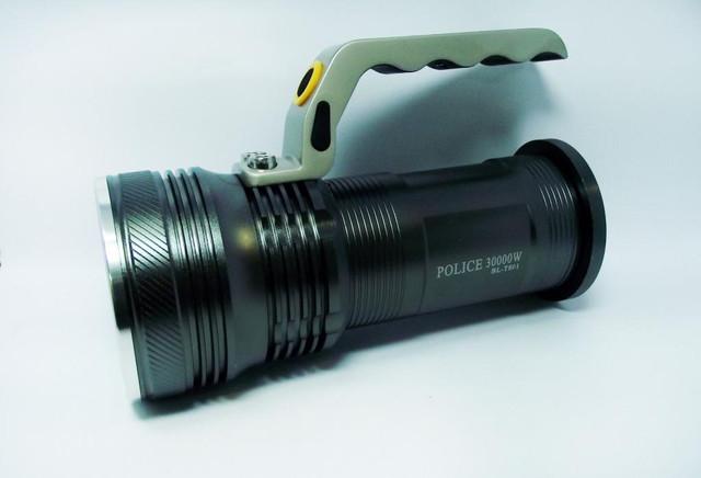Тактический прожектор POLICE BL-T801. Современный супермощный фонарь. 3 режима. Прочный  корпус. Код: КТМТ167 - фото 2
