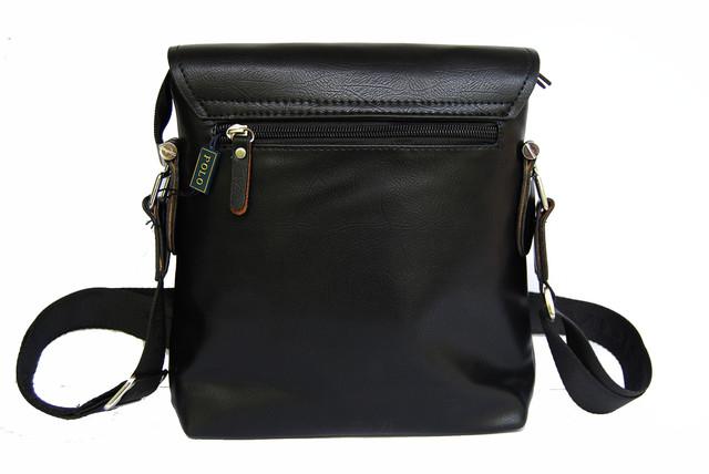Хит продаж 2015г !! Стильная Мужская кожаная сумка ПОЛО. Кожаная сумка ПОЛ Сумка на подарок мужчине. Код: КСЕ99 - фото 3