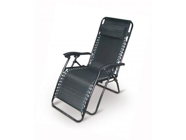 Садовое кресло лежак шезлонг Gravity Tytan - фото 1