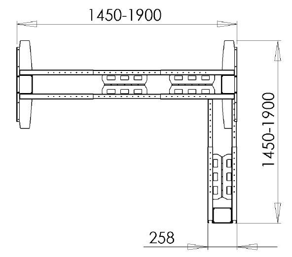 Основа стола, 501-23-7S190 - фото 2