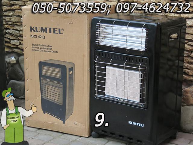 Обогреватели газовые, каталитические и керамические — 3,4 - 4,1 кВт - фото 10