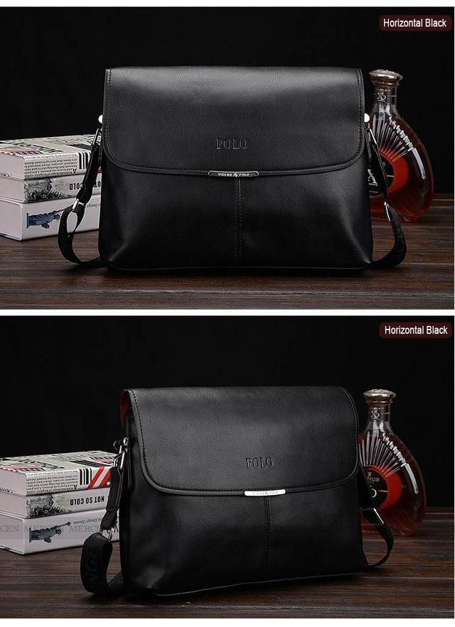 Мужская сумка портфель ПОЛО А4. Сумки для мужчин. Модные сумки. Офисные сумки. Код: КСЕ63 - фото 1