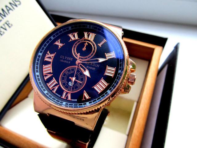 Часы мужские Ulysse Nardin. Наручные часы мужские. Интернет магазин часов. Отличный подарок мужчине. Код: КЧ20 - фото 6