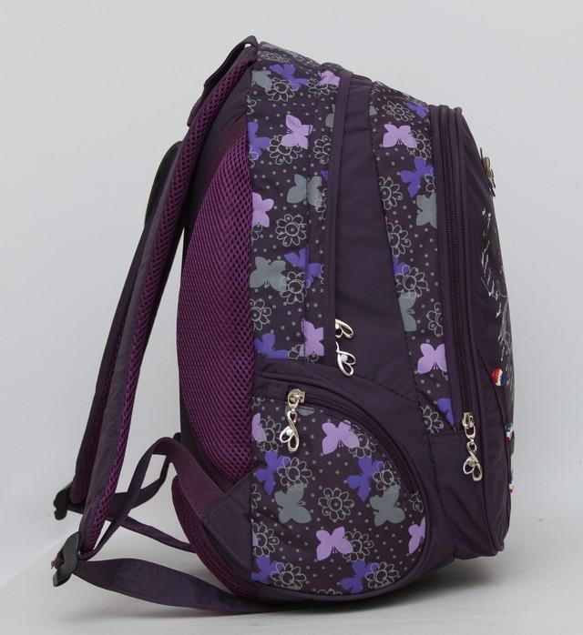 Небольшой детский рюкзак. Качественный рюкзак. Ортопедическая спинка. Купить в интернете рюкзак. Код: КДН470 - фото 3