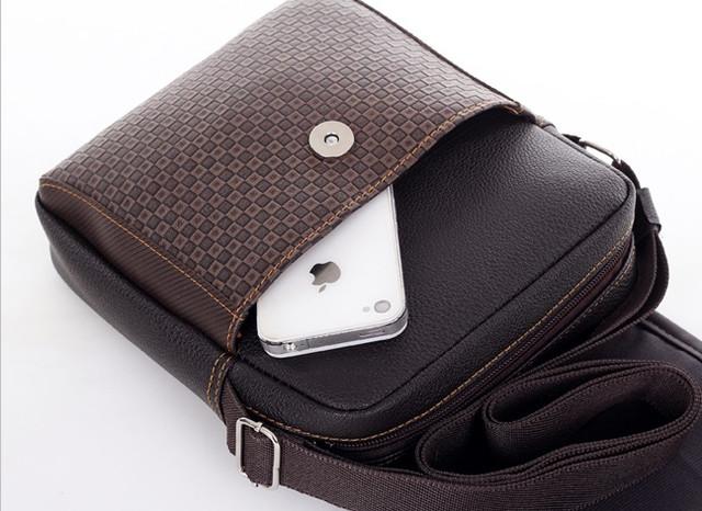 Мужская кожаная сумка. Офисный портфель. Недорогая сумка. Качественная сумка. Код: КСД41. - фото 2