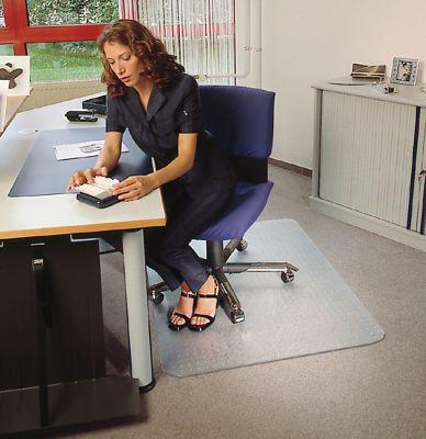Отличная защита напольного покрытия. Защитный коврик под стул. Хорошее качество. Доступная цена. Код: КДН932 - фото 3
