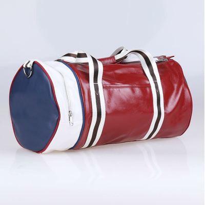 Спортивная сумка Fred Perry. Мужская сумка через плече. Сумка для спорта. Сумка мешок. Кожаная сумка. Код: КСС1 - фото 7