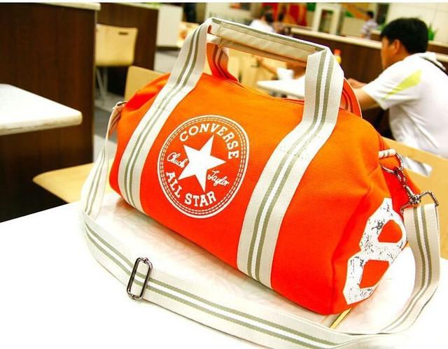 Городская сумка Converse. Спортивная сумка. Дорожная сумка. Мужская сумка. Женская сумка. Холст Код: КСС2 - фото 9