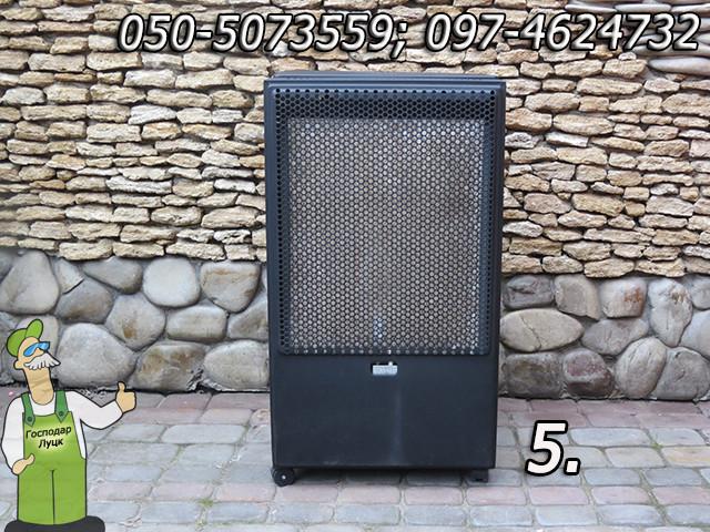 Обогреватели газовые, каталитические и керамические — 3,4 - 4,1 кВт - фото 5