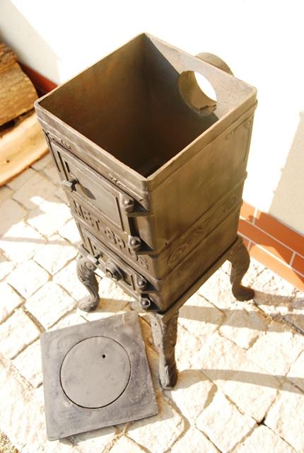 Печь буржуйка чугунная Каспер Met-Spos 6,5 кВт - фото 4