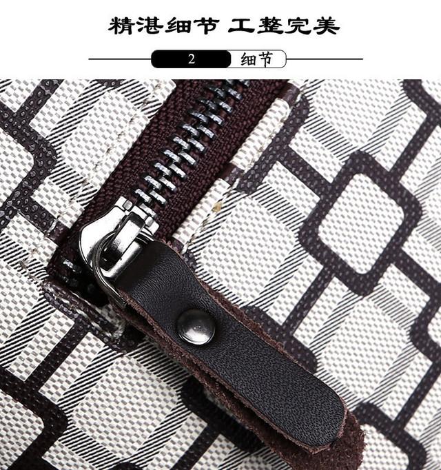 Мужская кожаная сумка. Высокое качество сумки. Удобная стильная сумка. Сумки через плече. Код: КС27-1 - фото 5