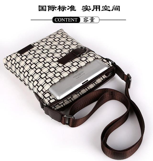 Мужская кожаная сумка. Высокое качество сумки. Удобная стильная сумка. Сумки через плече. Код: КС27-1 - фото 2