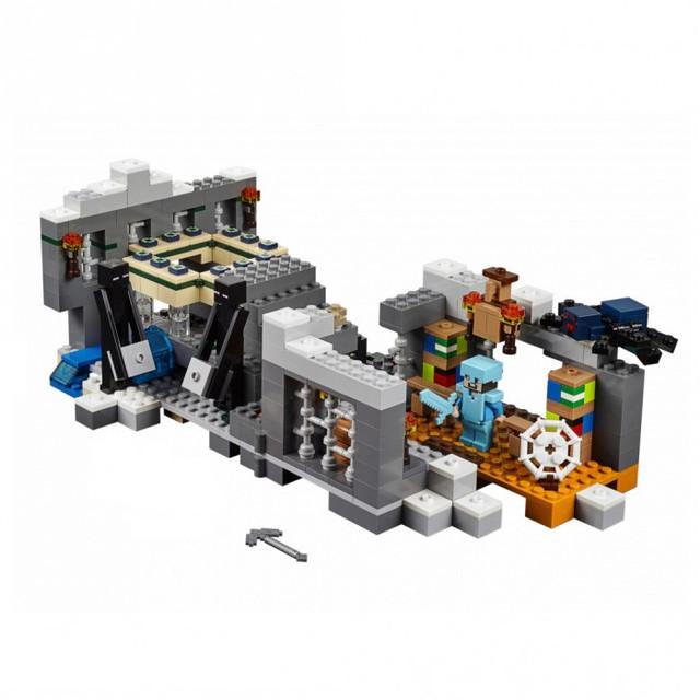 Конструктор Bela 10470 Портал в край (аналог Lego Майнкрафт, Minecraft 21124), 571 дет - фото 1