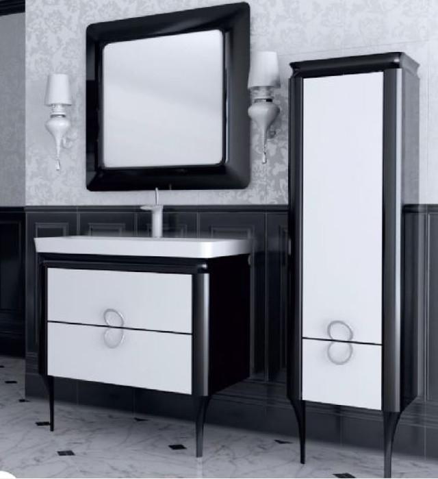 Зеркало Ювента TICINO TcМ-80 black и white - фото 2