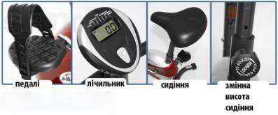 Велотренажер RW-370B магнитный (то же, что USA Style SS-370A ) - фото 2