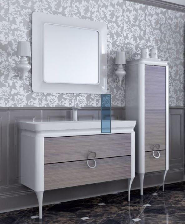 Зеркало Ювента TICINO TcМ-80 black и white - фото 1