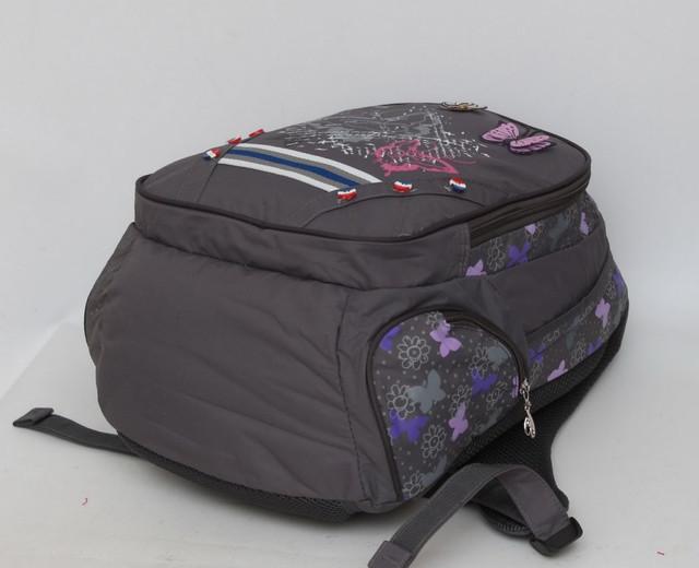 Добротный детский рюкзак. Ортопедическая спинка. Хорошее качество. Интересный дизайн. Купить. Код: КДН469 - фото 3