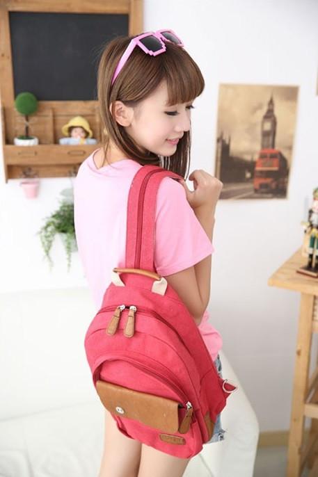Школьный рюкзак. Модный  рюкзак. Рюкзак женский.  Современные рюкзаки. Код: КРСК27 - фото 8