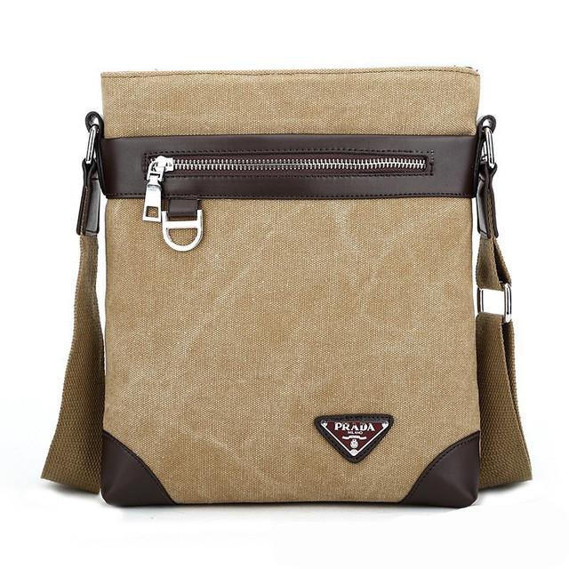 Мужская сумка Prada. Оригинал. Современный дизайн. Новое поступление. Отличное качество. Код: КС52-1 - фото 1