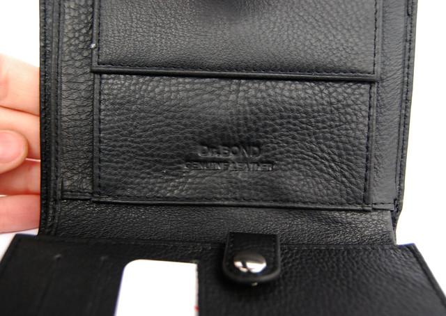 Мужской кожаный кошелек,  портмоне, бумажник. Кошелек на подарок. НАТУРАЛЬНАЯ КОЖА! Код: КСЕ112 - фото 5