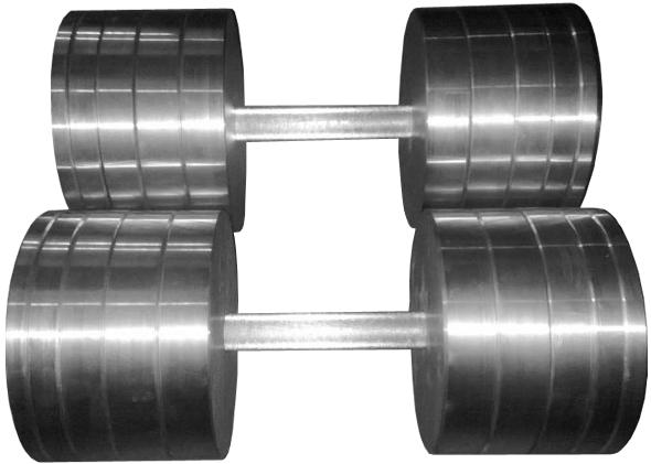 Гантели наборные 2*40 кг (Общий вес 80 кг) Металл (металеві гантелі розбірні наборні разборные для дома) - фото 1