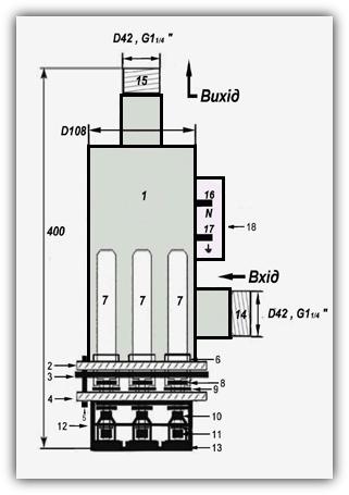 Электродные (ионные) котлы: «ЭОУ» 2 - 30 кВт - фото 16