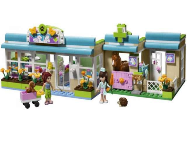 """Конструктор Bela """"Клиника для животных"""" 342 деталей арт.10169 (аналог LEGO Friends 3188) - фото 1"""