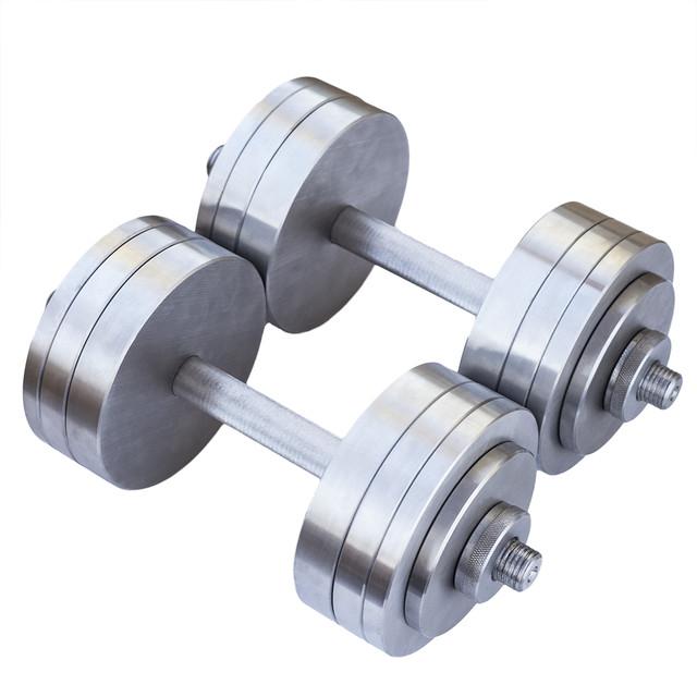 Гантели наборные 2*22 кг (Общий вес 44 кг) Металл - фото 1