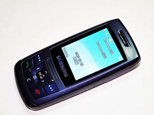 Недорогой мобильный телефон Samsung E250i. Дешевый слайдер. Качественный мобильный телефон. Код: КТМ215 - фото 1