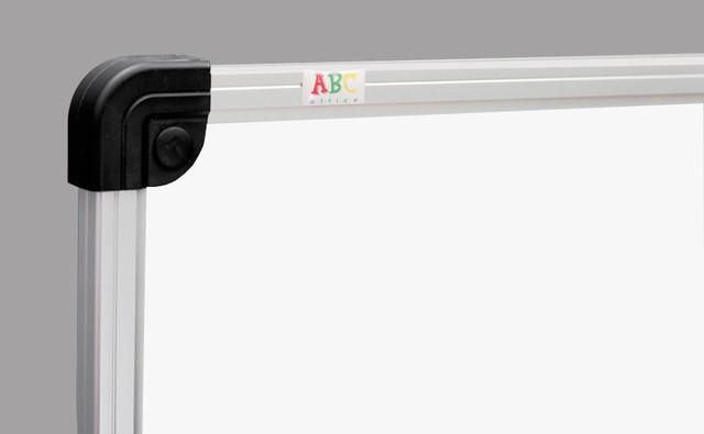 Маркерная доска ABC Office 120 x 200 см, алюминиевая рама S-line - фото 2