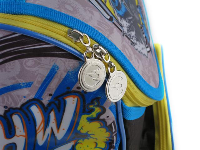 Рюкзак школьный, ортопедический Hot Wheels KITE HW15-501-2S - фото 5