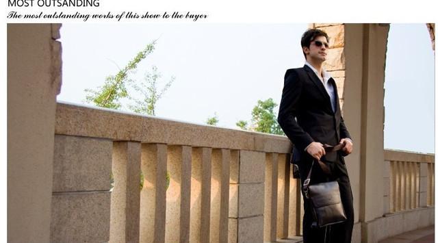 Красивая мужская сумка ПОЛО. Материал - комбинация кожи и кожиPU. Отличное качество. Кожаная сумка. Код: КСЕ52 - фото 8