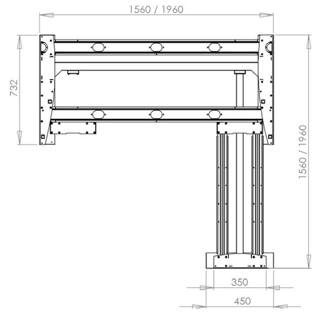 Регулируемый по высоте стол 501-11S156-156 - фото 5