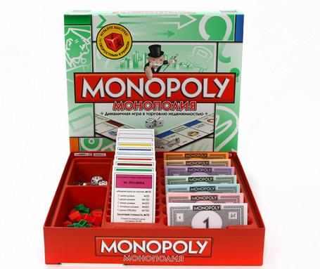 Монополия - настольная экономическая игра на русском языке - фото 1