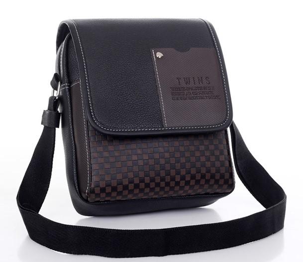 Мужская кожаная сумка. Офисный портфель. Недорогая сумка. Качественная сумка. Код: КСД41. - фото 1