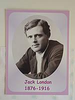 Портреты английских поэтов и писателей Джек Лондон 25х33 см